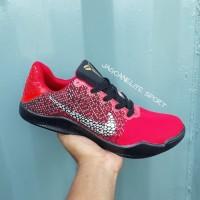 Terlaris ! Sepatu Basket Pria, Nike Kobe XI Elite / Kobe 11, Merah