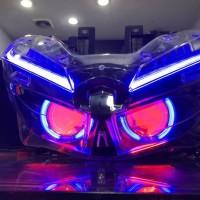 Headlamp honda vario 150 2018 plus Projie AES B1 alis DRL JHO 05 mode