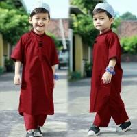 Setelan Iqbal - Baju Setelan Anak Laki-laki - Busana Anak Musli