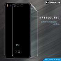 9Skin Matte Guard Ultra MGU Back Cover Skin Xiaomi Mi Note 3 - 1 Side