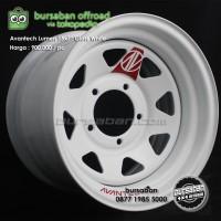 R15-0873 Velg Avantech Lumen Besi 6x139.7 Gloss White