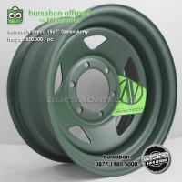R15-0884 Velg Avantech Besi Starco Green Amry 6x139.7 15x7