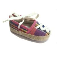 Sepatu bayi prewalker perempuan ballet tali