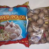 Baso sapi Warisan Super polos isi 50 Halal MUi