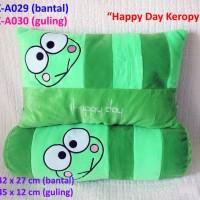 Bantal Keropi Happy Day Set Bantal Guling Bantal Boneka Kado Hadiah