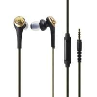 Audio-Technica ATH-CKS550iS BGD ( EX ) BLACK / GOLD - Emas Ningrat