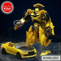 Robot Transformer Bumblebee Autobot Bisa menjadi Mobil Sport