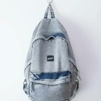 tas denim backpack