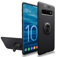 Casing Autofocus Ring Magnetic Case Samsung Galaxy S10 Plus S10+