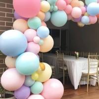 Balon Latex Doff Pastel Dekorasi Pesta Ulang Tahun Ultah Anak Murah