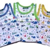 Baju Anak Kutung Ridges - Baju Singlet Anak bayi harian tokonees