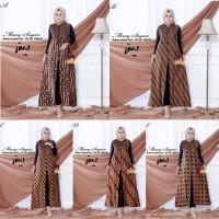Longcardy Batik Maxi Cardi Sogan Baju Gamis Batik Outer Wanita