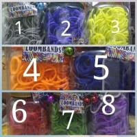 Refill Loomband Rainbow Loom 600 pcs