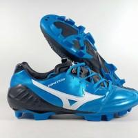 Sepatu Bola Mizuno Wave Ignitus 4 Metallic Blue FG