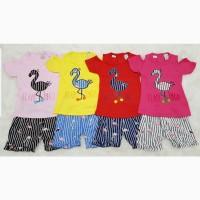 Baju Setelan Anak Bayi Perempuan Flaminggo Salur