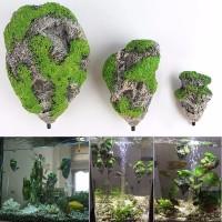 SMALL Floating Rock Artificial Stone Aquarium Fish Tank Decoration