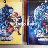 Promo Buku Album Kartu Animal Kaiser 144 Kartu Ukuran Besar 23 X 29 Cm