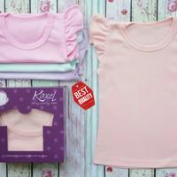 Baju Anak Perempuan / Cewek Kaos Oblong Pendek Untuk Bayi