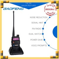 Baofeng UV-5R / UV5R / UV 5R / UV-5R bao feng Handy Talkie (HT) Black