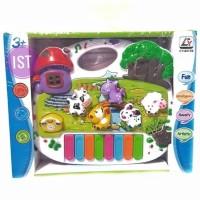 Mainan Anak Mainan Piano Cartoon Animal Paradise CY-6073B