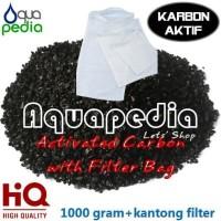 Filter Karbon Aktif Activated Carbon Filter 1000g + Filter Bag