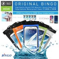 BINGO 06129 Medium Case Sarung HP Anti Air / Hujan Waterproof ORIGINAL