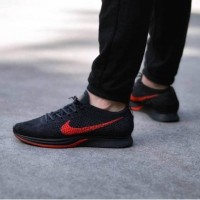 Nike Flyknit Racer Blue Cactus Premium Sepatu Pria