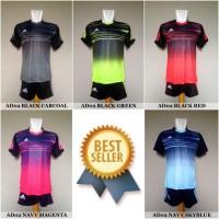 Setelan Futsal / Sepakbola Adidas AD02 (Baju Kaos Celana)