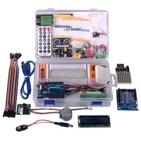 arduino Uno r3 compatible starter kit paket lengkap free Cd
