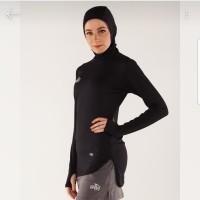 baju olahraga gym wanita muslimah Specs Amara Hijab cap baselayer