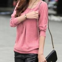 blouse atasan Diana - 2 warna - konveksi tanah abang