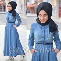 baju muslin wanita MAXI SEVAL 2 warna - konveksi murah tanah abang