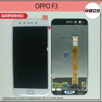LCD TOUCHSCREEN OPPO F3 CPH1609 PUTIH