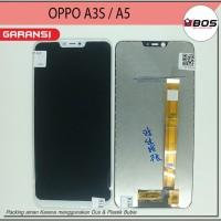 Lcd Touchscreen Oppo A3s A5 Cph1803 Putih
