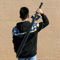 Pedang COSPLAY kirito Elucidator SAO Sword art online