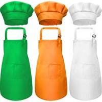 Promo Apron Anak Gratis Topi Chef Koki High Premium Quality