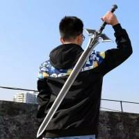 Pedang cosplay Anime Kirito Black Sword SAO SWORD ART ONLINE