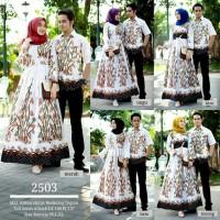 baju Batik Couple sarimbit Fashion gamis bambu putih baju lebaran