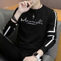 Baju danilo - Fashion Pria - Baju Kaos Pria Trend - Hitam, L