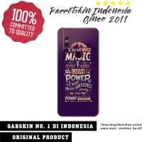 Garskin Vivo V15 custom anti gores magic quote for back case