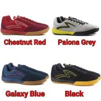 Sepatu Futsal Specs Metasala Rival IN Chestnut Red Palona Grey
