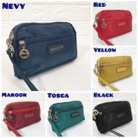Tas dompet wanita cewek branded pouch slingbag tempat HP LC Import