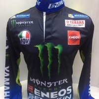 Jersey Baju Balap Moto Motor GP Gaspol Yamaha Rossi 46