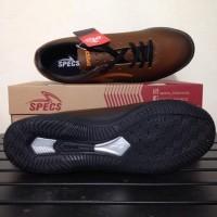 Special Product Sepatu Futsal Specs Eclipse In Black Bitter Brown