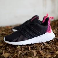 Sepatu Adidas Questar Flow Black Pink 36-40 ORIGINAL BNWB TERMURAH