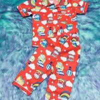 PIYAMA TIDUR ANAK MOTIF TAYO LUCU bukan baju tidur dewasa