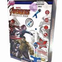Mainan Anak MICROPHONE MARVEL AVENGER MP3 SINGLE No DS-005-1H