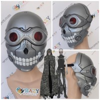 Mask Topeng Kayu Cosplay Anime Death Gun SAO Sword Art Online