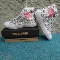 Sepatu Converse Hello Kitty High Boots Edition Kids Sepatu Anak Hello