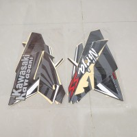 Stiker Bodi & Lis Body & Striping Ninja Ss 2014 Hitam